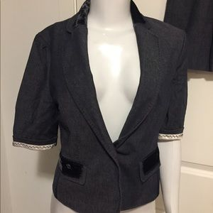 Bcbg suit skirt and jacket.